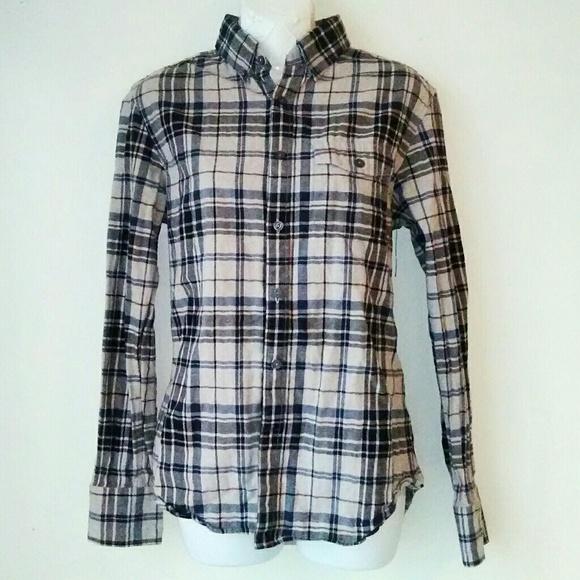 4b341ca5b American Eagle Outfitters Tops | Plaid Button Down Shirt | Poshmark